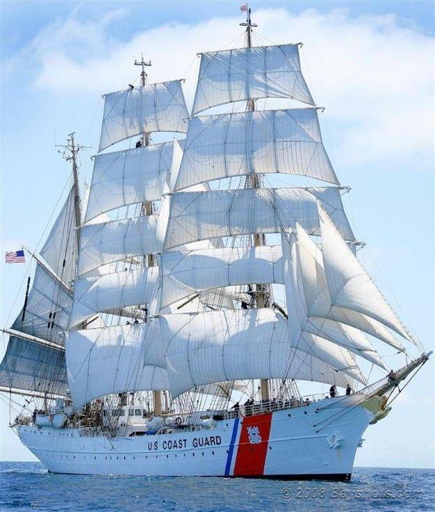 U.S. Coast Guard Cutter Eagle, Vessel Type - Barque; New London, CT
