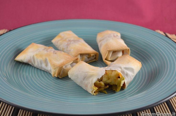 Scopri la ricetta di: Involtini di gamberi e verdure