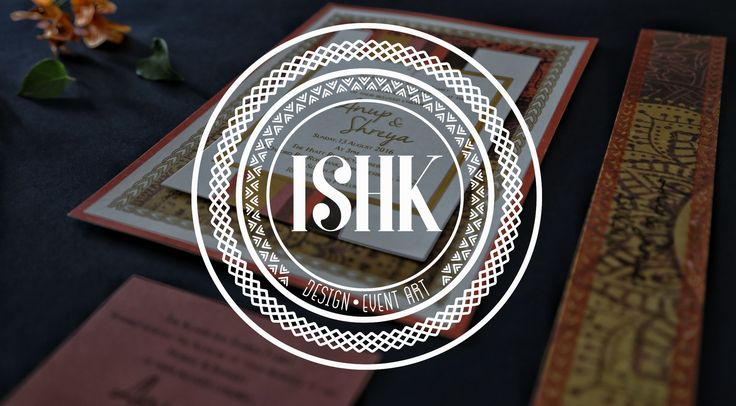 The magic of your story lies in the little details...💫 We're excited to launch our bespoke, culture-infused, event art in SA. Watch this space for some really cool designs we've been working on! #eventart #invitations #invite #eventstationery #ishk #design #indianwedding #weddingstationery #culture #southafrica
