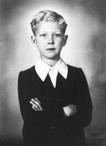 Il principino Vittorio Emanuele di Savoia - 1943 di Ghitta Carell