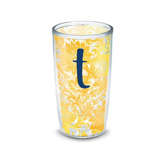 INITIAL-T Blooming Wrap   Tervis Official Store