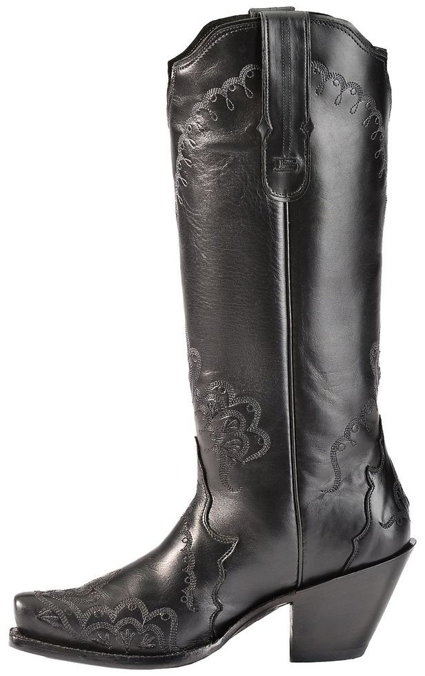 88b9dcd75d5 Tony Lama Black Label Tall Cowgirl Boots - Snip Toe | Boots | Tall ...