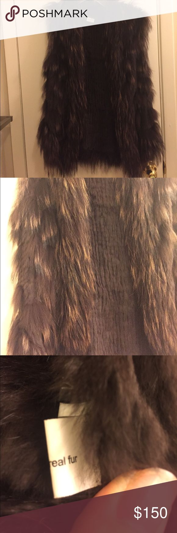 Beautiful 100% real fur vest I have no idea what kind of fur it is. It was a gift. Very soft. Jackets & Coats Vests