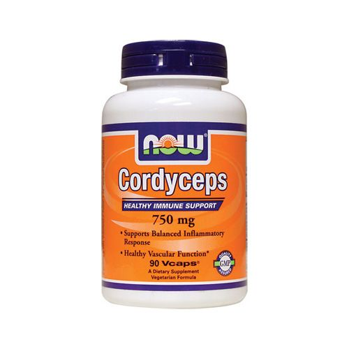 NOW Cordyceps Organic 750mg 90caps (Ανοσοποιητικό Σύστημα & Αγγειακή Λειτουργία) | Familypharmacy.gr