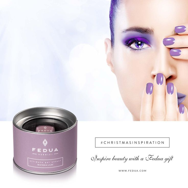 Elegant and sophisticated color: Wisteria Lilac by Fedua is on www.feduacosmetics.com Tonalità elegante e sofisticata: Wisteria Lilac di Fedua è su www.feduacosmetics.com ‪#‎beautyinspiration‬ ‪#‎feduacosmetics‬