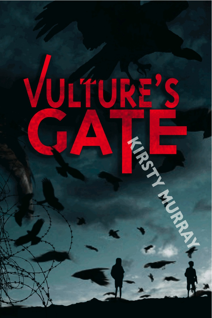 Cover of the Australian edition of 'Vulture's Gate'