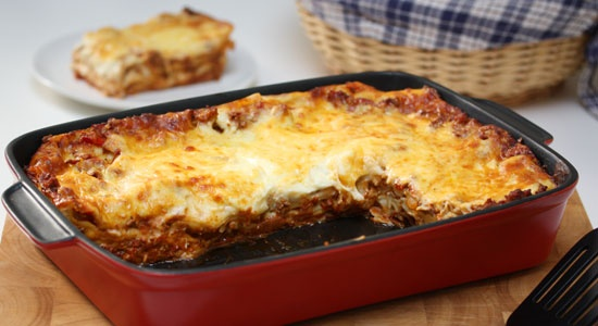 Low Fat Traditional Lasagne - weightloss.com.au