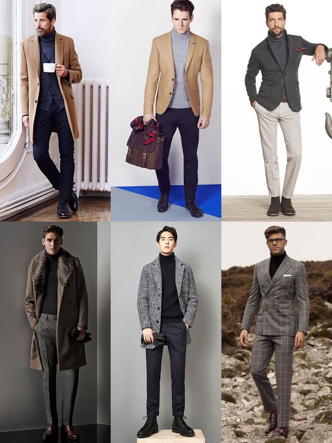 Capsule Wardrobe Additions for 2014 Autumn: A Neutral Roll Neck Jumper Lookbook Inspiration