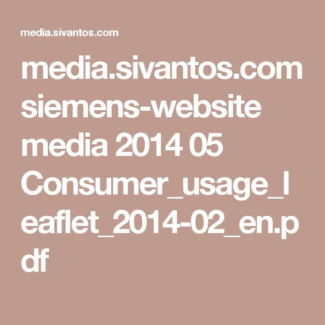 media.sivantos.com siemens-website media 2014 05 Consumer_usage_leaflet_2014-02_en.pdf