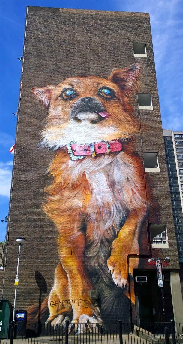 Des animaux géants dans les rues de Londres. / Giant animals in the streets. / London, Londres. / England, Angleterre.