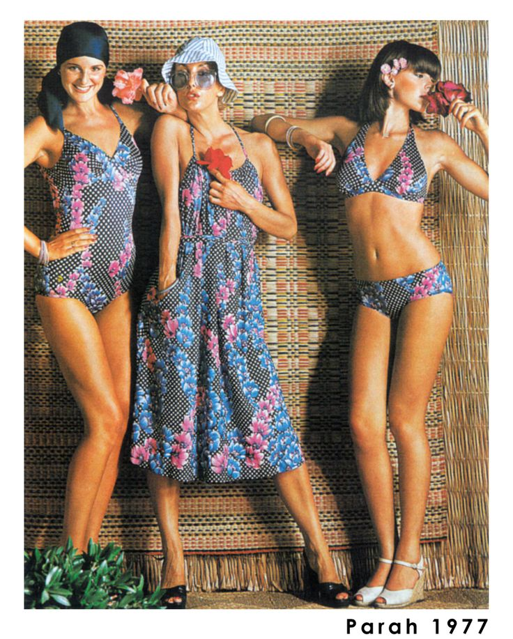 Parah's 70's? Flower power and exotic touch!  #Postcard #Vintage #ParahWorld #Parah #outfit #beashwear #swimwear #vintage #sexy #fashion #madeinitaly #loveit #seduction #love #ParahWorld #elegance #travel #holidays