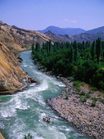 Rafting Down the Coruh River, Erzurum, Turkey