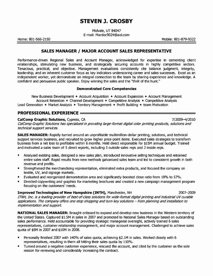 Sales Resume Objective Examples Luxury Resume Bullet
