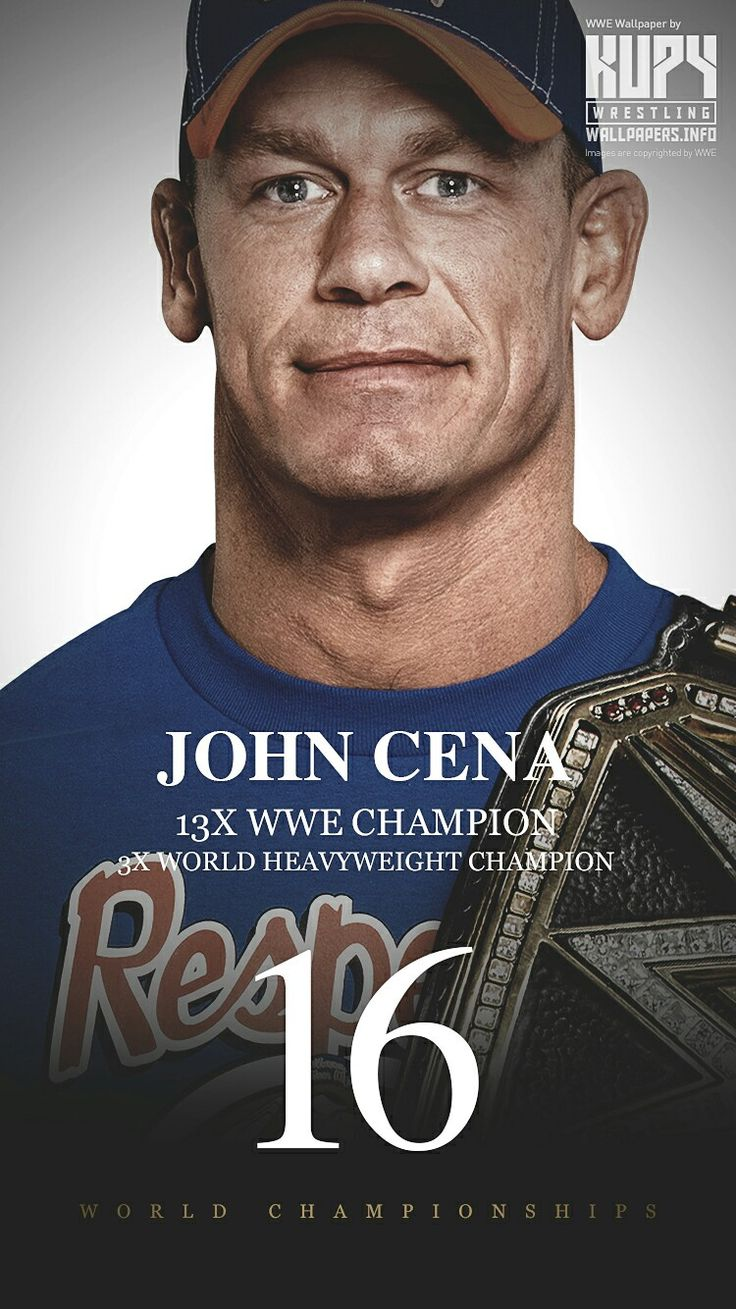 "John Cena 16-World Champions there is something wrong with the fact that he won those under 15 years . he should not be tied with flair he's not even in the same league as flair. Him being a ""default"" champion is wrong. His ""16th"" was bullshit it gave him the tie and got the belt of styles which made no sense."