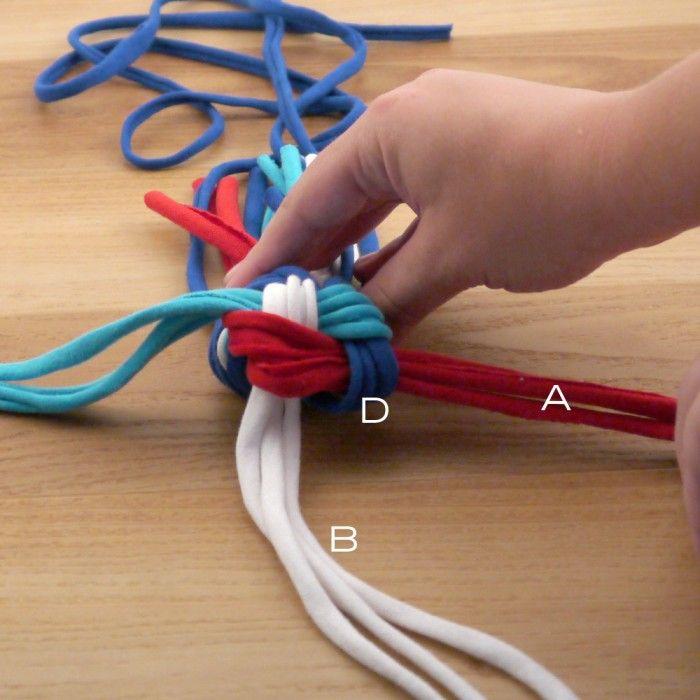DIY Upcycled T-Shirt Dog Chew Toy | Upstairs Circus