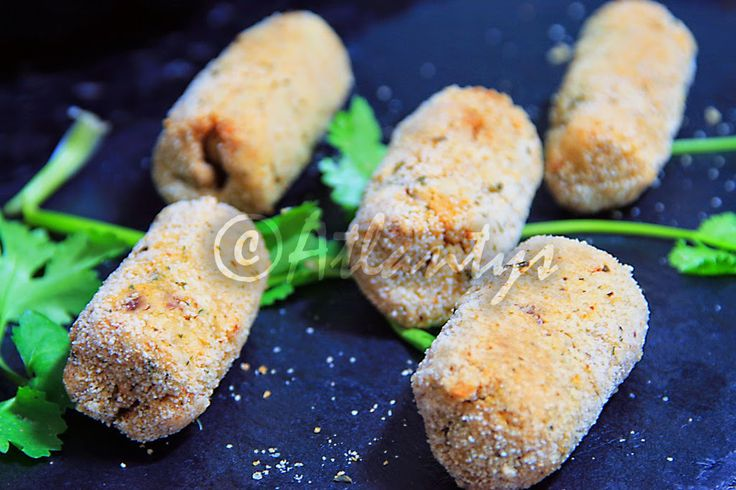 Terapia do Tacho: Croquetes de frango no forno (Baked chicken croquettes)