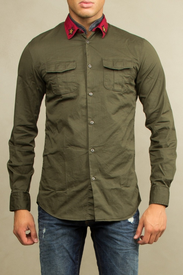 Dsquared camicia Dsquared shirt Dsquared military shirt