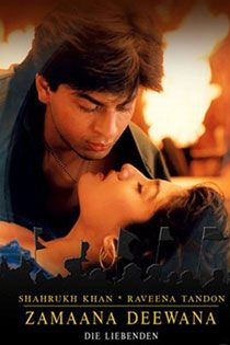 Zamaana Deewana (1995) Hindi Movie Online in SD - Einthusan Shahrukh Khan ,Raveena Tandon ,Jeetendra ,Shatrughan Sinha ,Anupam Kher Directed by Ramesh Sippy Music by Nadeem Shravan 1995 ENGLISH SUBTITLE