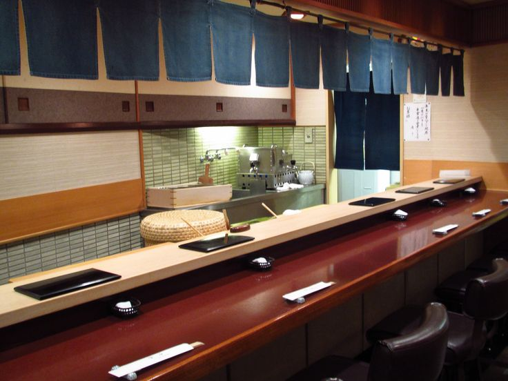 Sukiyabashi Jiro, Ginza, Tokyo: One of the only sushi restaurants to be given 3 Michelin stars. Their sushi is supposed to be the best in the world.