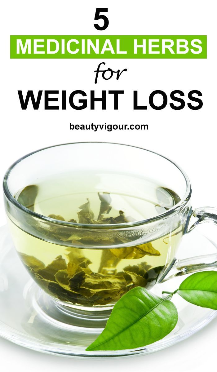 Herbs for weight loss 5 Medicinal Herbs for Weight Loss