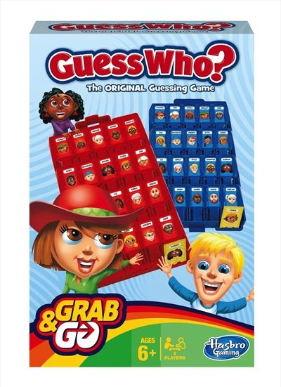 Grab And Go Guess Who Games, Merchandise   Sanity