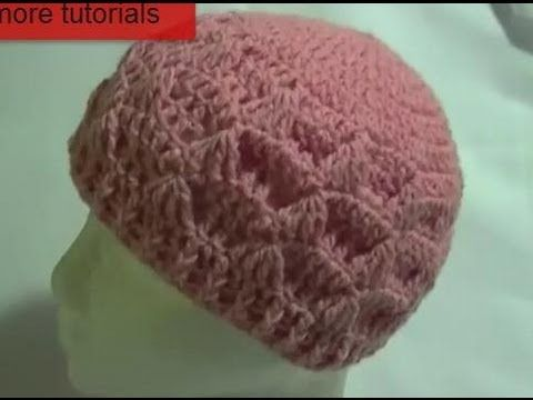 Crochet Tezzie Hat / Beanie Tutorial