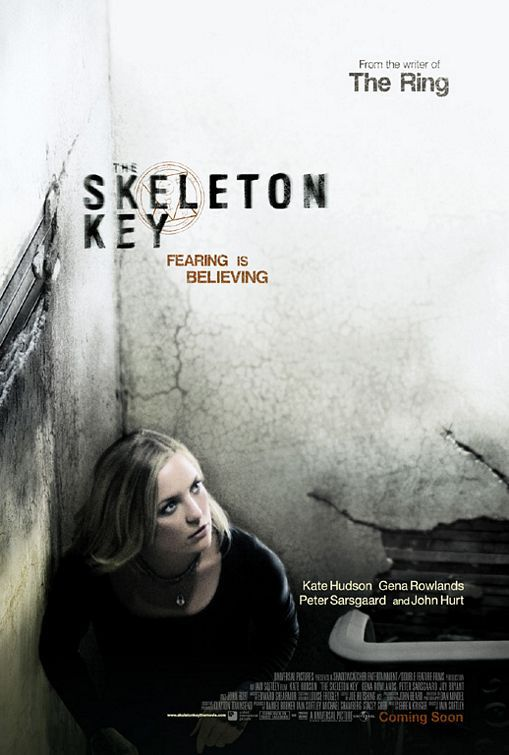 The Skeleton Key (2005) This is a really good thriller that keeps you on the edge of your seat! 4/5 stars. Worth a replay? Yes. JMN