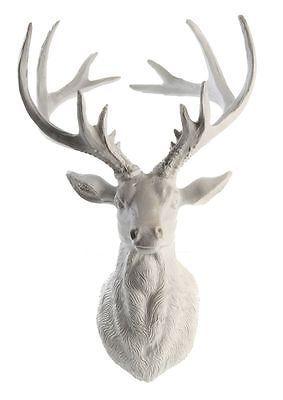 Luxury Details zu Skulptur Hirschkopf Wanddeko Deko Geweih Hirschgeweih