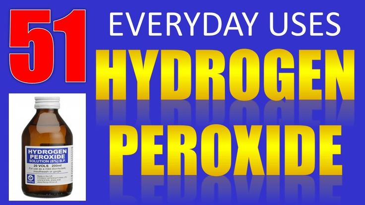 52 everyday uses benefits of hydrogen peroxide