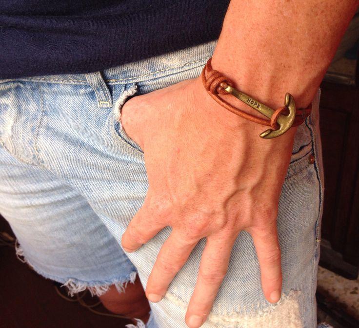 Le chouchou de ma boutique https://www.etsy.com/fr/listing/511305087/bracelet-homme-en-cuir-ancre-cuivree