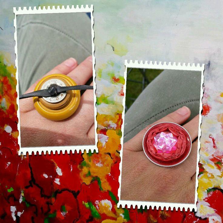 Zelfgemaakte ringen