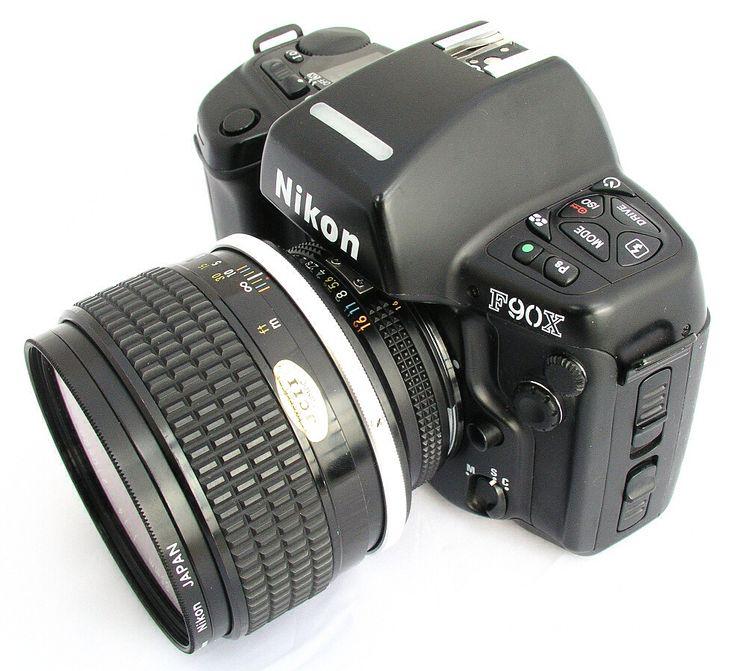 Classic Nikon F90x (N90s) with the 85 f1.4 Ais lens