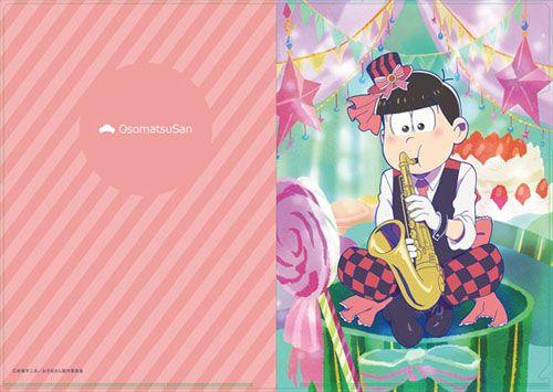 おそ松さん [描き下ろし] 吹奏楽松クリアファイル おそ松[エムズ]《06月予約》