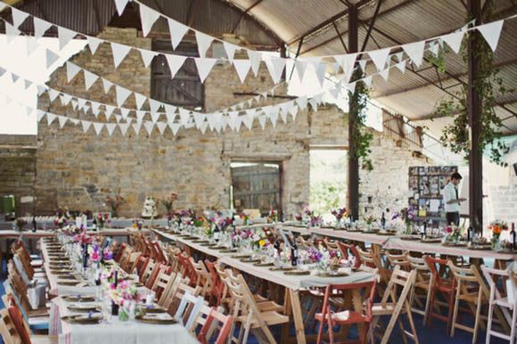 """I borrowed/hired all the old fashioned wooden trestle tables and folding chairs from local churches. All my picnic baskets, vintage tins, blankets,  bunting, teapots and picnic paraphernalia can be hired from me for any mass celebration or party by visiting Lucy Litchfield for my contact details."""