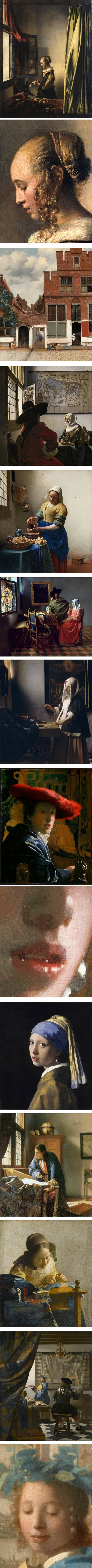 High resolution images of Vermeer's paintings