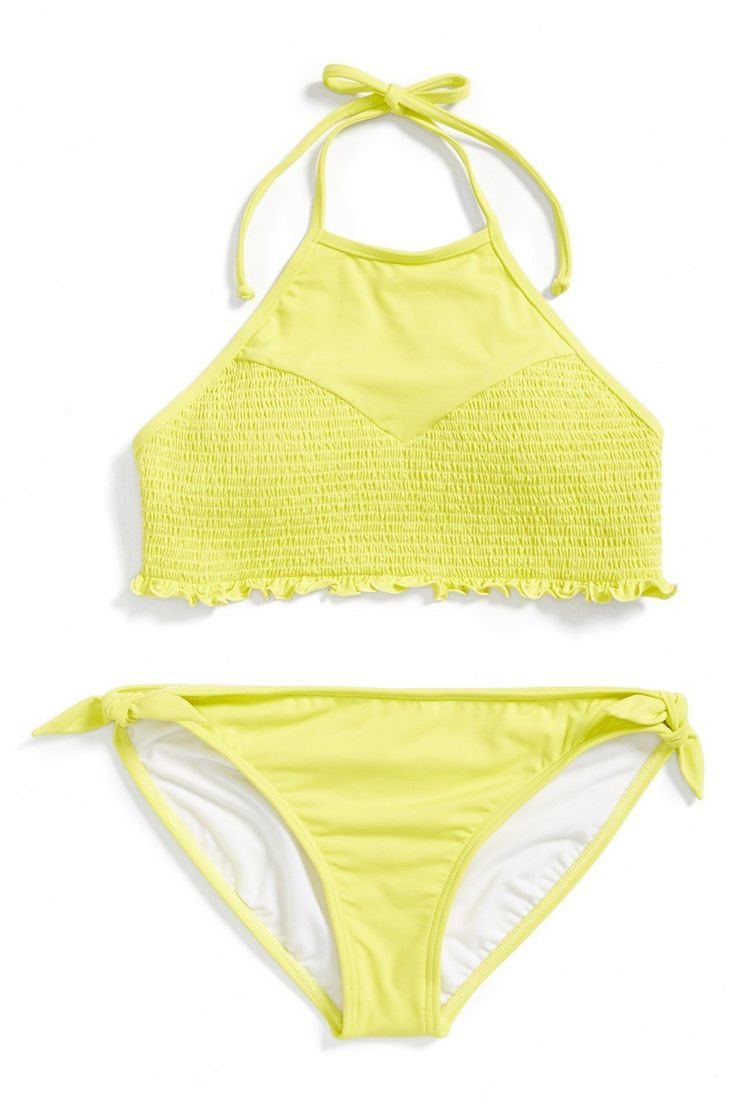 Sol Searcher Two-Piece Halter Swimsuit (Little Girls & Big Girls)