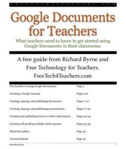 Using google docs.