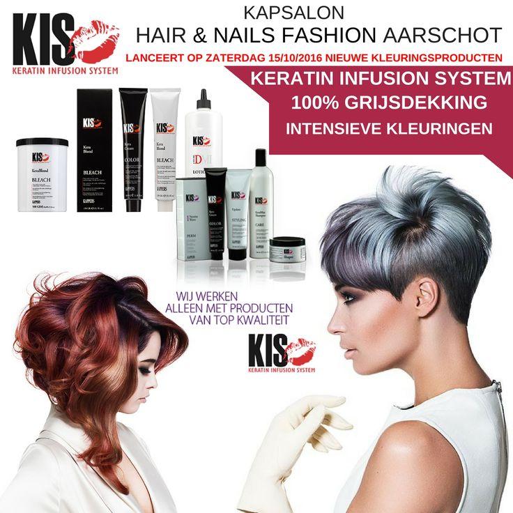 Nieuwe Haarverzorgingsproducten en kleuringen