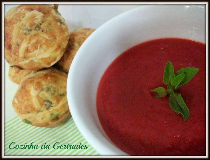 Cozinha da Gertrudes: Coletivo Gastronômico - Sopa Vermelha