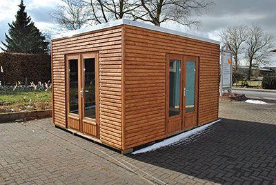 26 besten moderne gartenh user bilder auf pinterest gartenhaus modern produkte und hochwertig - Gartenhaus kubus ...