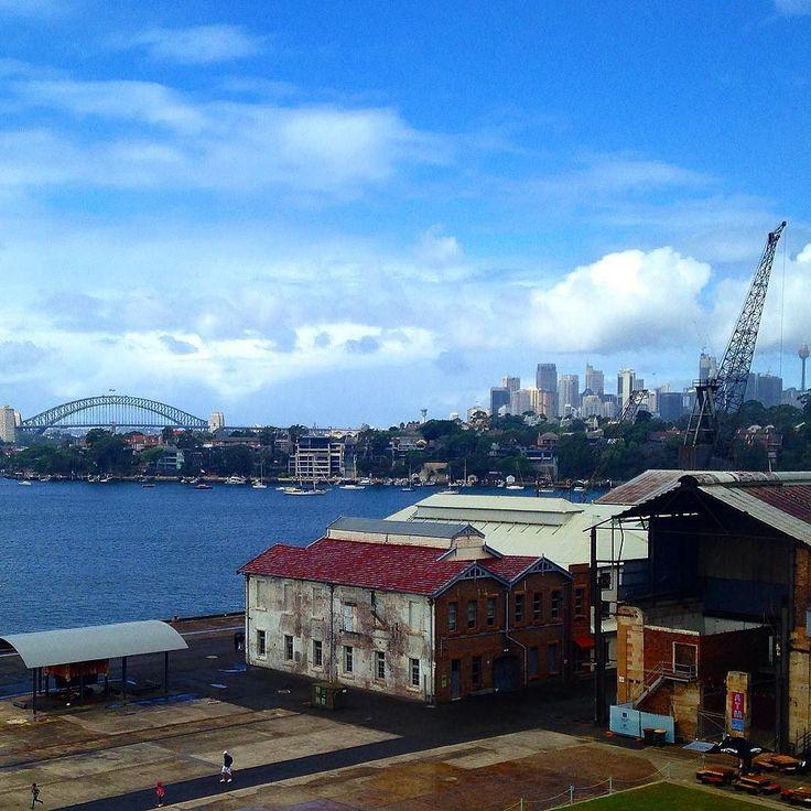 Cockatoo Island #sydneyharbourbridge #sydney #20BOS #20thbiennaleofsydney #cockatooisland #sydneyharbour #lastdayout #iPhone by photogwilson http://ift.tt/1NRMbNv