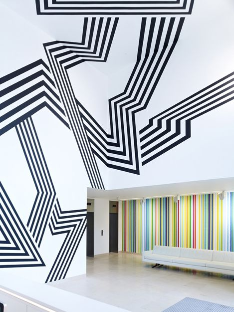 Morag Myerscough - Installation The Grove, Marylebone, London
