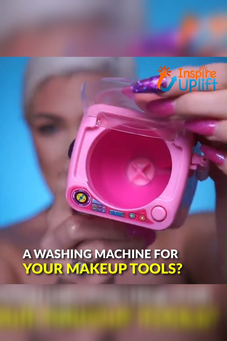 Makeup Sponge & Brush Washing Machine 😍