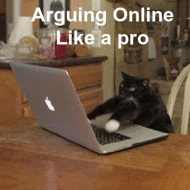 lol arguing online when i am with spm lol
