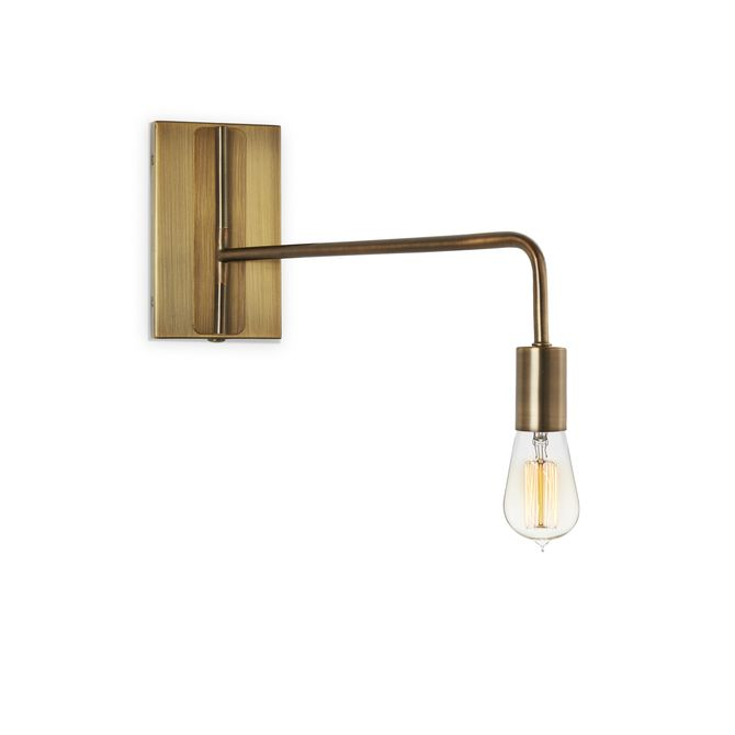 Lights.com | Wall Lights | Hoyt Swing Arm Wall Sconce, Bronze