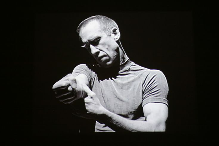 """William Forsythe (born 30 December 1949) is an American dancer/ choreographer, known internationally for his work with the Ballet Frankfurt (1984–2004) and The Forsythe Company (2005–present). Here is shown performing his piece """"Solo"""" - made for camera. The piece was also performed at #DanserSaVie in 2012."""