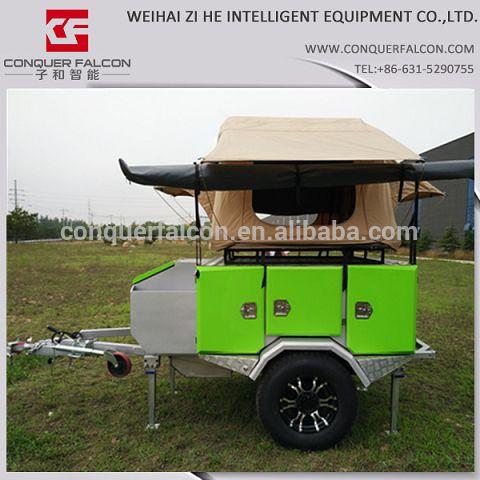 4x4 off road rimorchi camper carrello tenda Roof top tenda da campeggio-immagine-Trailers da viaggio-Id prodotto:60296651635-italian.alibaba.com