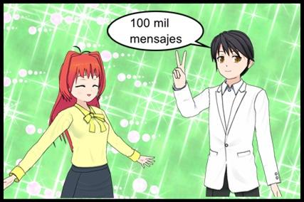 Imagen descripción 100.000 mensajes