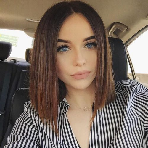 medium length blunt haircuts 25 best ideas about blunt cuts on blunt bob 5136