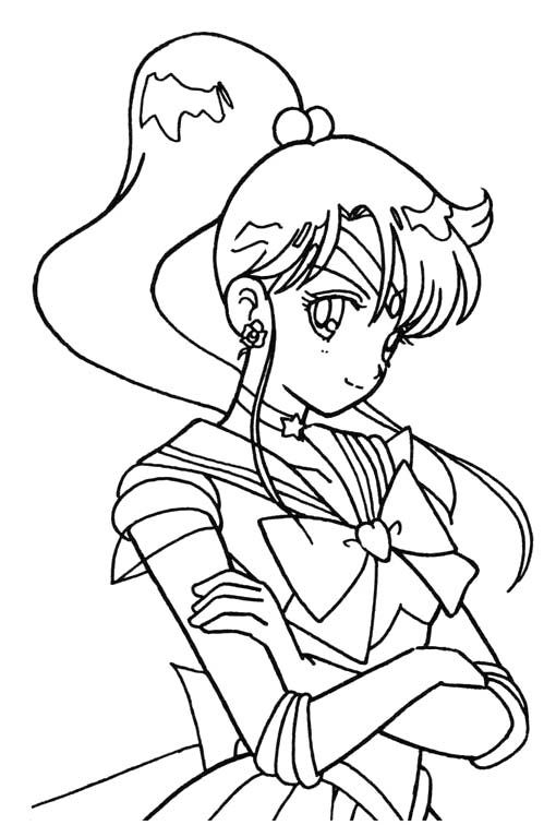 45 best sailor moon coloring pages images on pinterest for Sailor coloring pages